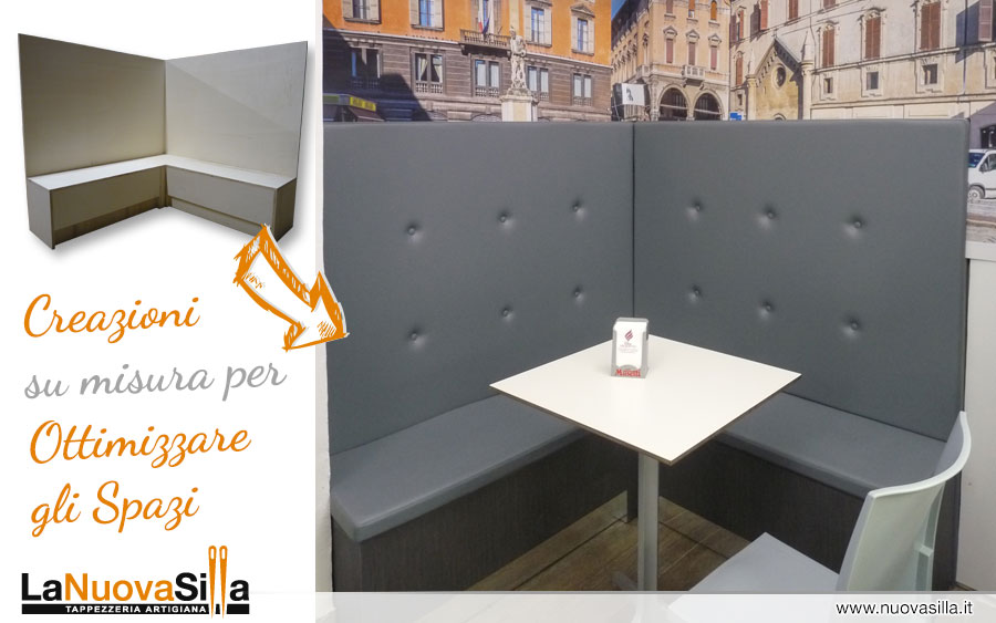Tappezzeria artigiana a reggio emilia la nuova silla for Arredamento esterno bar