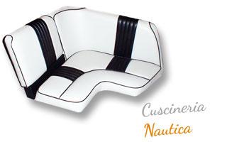 Fotografia di un esempio di realizzazione di sedili per Nautica.